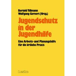 Jugendschutz in der Jugendhilfe als Buch von Bertold Tillmann