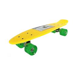 Best Sporting Skateboard PP Skateboard blau