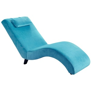 Made in Germany Liege Samtvelours Relaxliege Chaiselongue modern design Neu