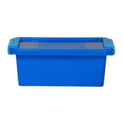 ONDIS24 Aufbewahrungsbox Aufbewahrungsbox mit Deckel Klipp Box XS Lagerbox 2,5 Liter blau