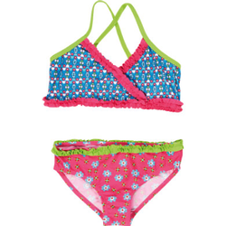 Playshoes UV-Schutz Bikini Blume pink