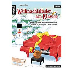 Weihnachtslieder am Klavier. Valenthin Engel  - Buch