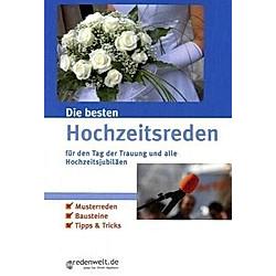 Die besten Hochzeitsreden für den Tag der Trauung und alle Hochzeitsjubiläen