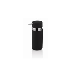 Kela Seifenspender Per in schwarz, 16,5 cm