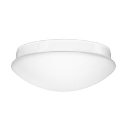 LED Deckenleuchte, Badlampe BADU für Innen und Außen rund Ø 26cm IP44 Abstrahlwinkel 180° 14W=74W 900lm weiß