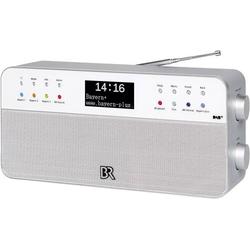 BR2 Tischradio DAB+, UKW AUX Weiß