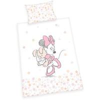 Herding Babybettwäsche Disney ́s Minnie Mouse, Walt Disney, mit Minnie und Sternen weiß