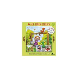Magellan Puzzle 4 auf einen Streich: Meine Märchenpuzzle-Box, Puzzleteile