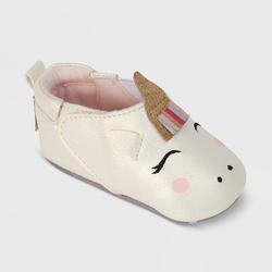 Ro+Me by Robeez Baby Girls' Unicorn Crib Shoes - 0-6M