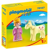 Playmobil 1.2.3 Prinzessin mit Einhorn 70127
