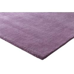 Solid Plain Handgearbeitet lila ca. 240/340 cm