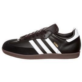 adidas Samba Leather black-white/ gum, 46.5