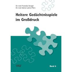 Heitere Gedächtnisspiele im Grossdruck / Heitere Gedächtnisspiele im Großdruck, Band 6