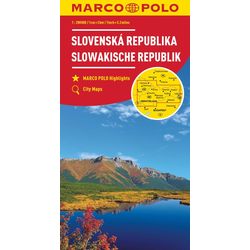 MARCO POLO Karte Slowakische Republik 1:200 000
