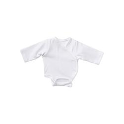 Emil Schwenk Puppenkleidung Puppenkleidung Body langarm, weiß, 38 cm weiß