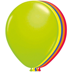 Folat Luftballon Luftballons Neon, 50 Stück