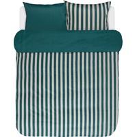 Marc O'Polo Classic Stripe grün (200x220+2x80x80cm)