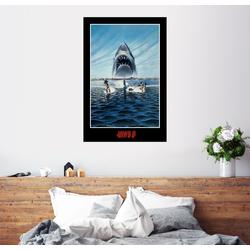 Posterlounge Wandbild, Der Weiße Hai 3 - Wasserski 20 cm x 30 cm
