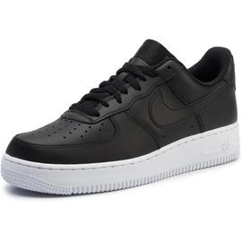 Nike Men's Air Force 1 '07 black/ white, 44