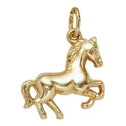 JOBO Kettenanhänger Pferd, 333 Gold