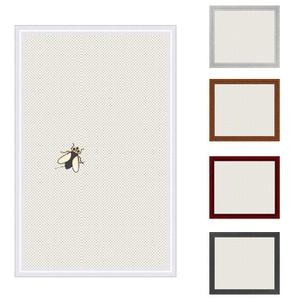 Insektenschutz Spannrahmen, Fliegengitter für Fenster, fertig auf Mass, als Bausatz, in weiss