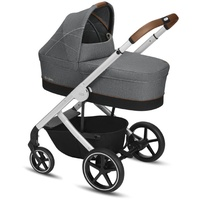 Cybex Balios S Denim Collection Manhattan Grey inkl. Babywanne