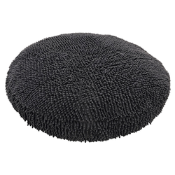 Nobby Komfortkissen rund Moppy grau für Hunde, Maße: Ø 100 x 11 cm
