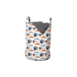 Abakuhaus Wäschesack Wäschekorb mit Griffen Kordelzugverschluss für Waschsalons, Aquarium Süßwasserfischart