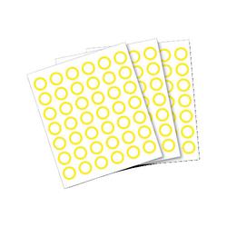 Anybook Sticker Set gelb, 2160er