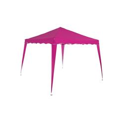 Deuba Pavillon Capri, Wasserdicht rosa 300 cm x 300 cm x 250 cm