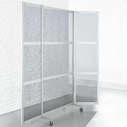 SCREEN Mobile Faltstellwand, 3-teilig, b100(200)xt2,4xh198cm