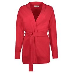 Lavard Rote Damen Strickjacke aus Wolle 84836  M