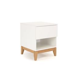 ebuy24 Nachttisch Blance Nachttisch mit 1 Schublade und 1 Ablage. We