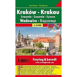 Freytag & Berndt Stadtplan Krakau  Wadowice; Krakow  Wadowice; Cracovie  Wadowice. Cracovia  Wadowice. Krakov  Wadowice. - Buch