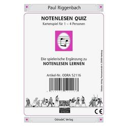 Notenlesen Quiz (Kartenspiel)