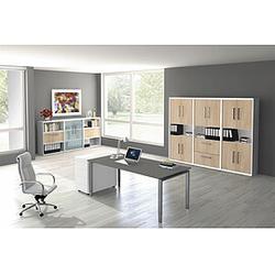 FORM 5 Büromöbel Set, 1 Arbeitsplatz 500x450