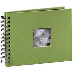 hama Fotoalbum Fine Art neutral 24,0 x 17,0 cm, 50 schwarze Seiten