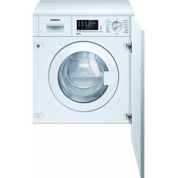 Einbauwaschtrockner iQ500 WK14D541, 7 kg / 4 kg, 1400 U/Min, Waschtrockner, 44978052-0 weiß weiß