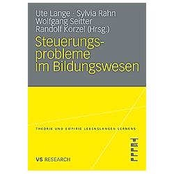 Steuerungsprobleme im Bildungswesen - Buch