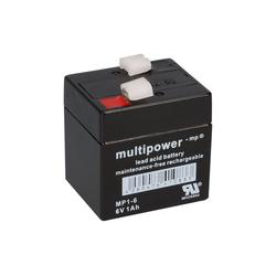 Multipower Multipower Blei-Akku MP1-6 Pb 6V / 1Ah Bleiakkus