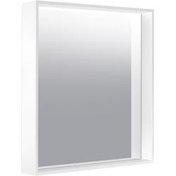 Keuco Kristallspiegel X-LINE 650 x 700 x 105 mm Inox