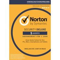 NortonLifeLock Norton Security Deluxe 3.0 5 Geräte PKC DE Win Mac Android iOS