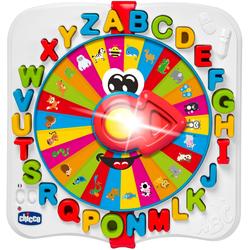 Chicco Lernspielzeug ABC-Rad bunt Kinder Lernspiele