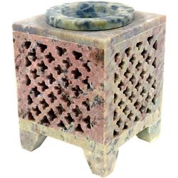 Guru-Shop Duftlampe Indische Duftlampe, ätherisches Öl Diffusor,..