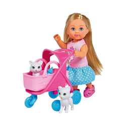 SIMBA Sammelfigur Evi LOVE Cat Buggy