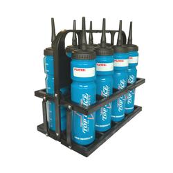 STEEL Flaschenträger Set inkl. 8 TOI Flaschen