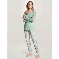 CALIDA Pyjama Bündchen-Pyjama (2 tlg) S = 40/42