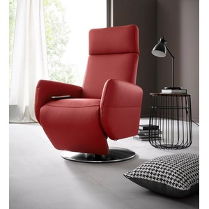 Places of Style Relaxsessel Kobra, in Größe L, wahlweise mit Motor und Aufstehhilfe rot