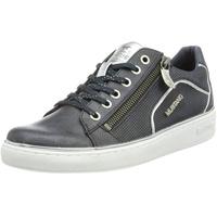 MUSTANG Shoes Sneaker, mit angedeutetem Lochmuster blau 36
