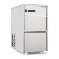 Klarstein Eiswürfelmaschine Industrie Leistung: 145W Produktionsvolumen 20 kg/Tag 3,5 kg Vorratsbehälter Edelstahl